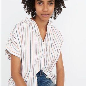Madewell Striped Central Buttondown Shirt
